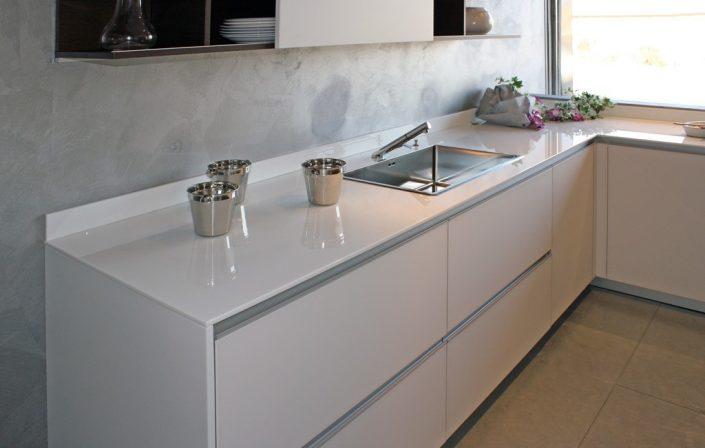 Stoneglass-Küchenplatte